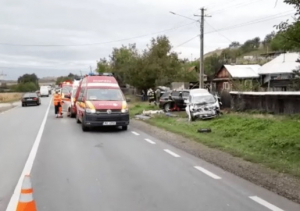 Accident grav la Rosiori. Video