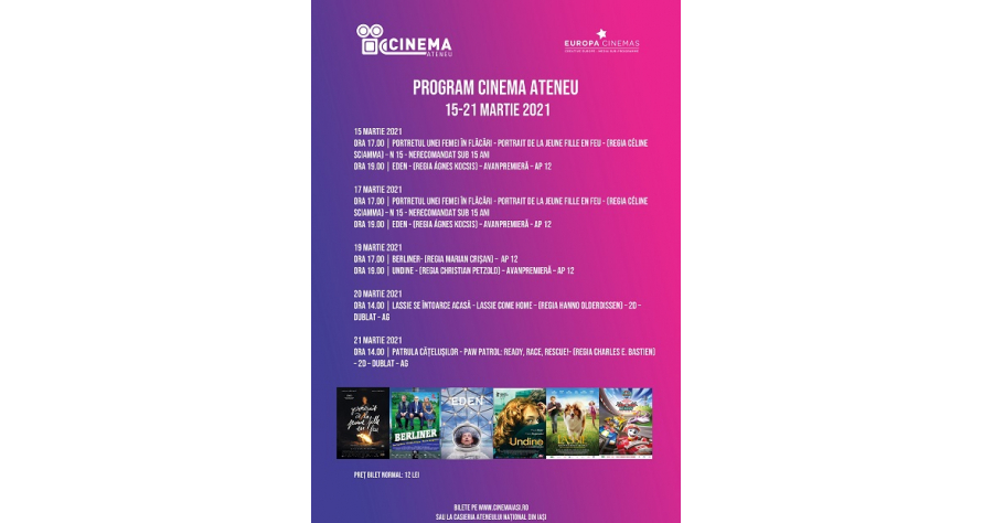 Program Cinema Ateneu