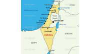Israel---vector-map