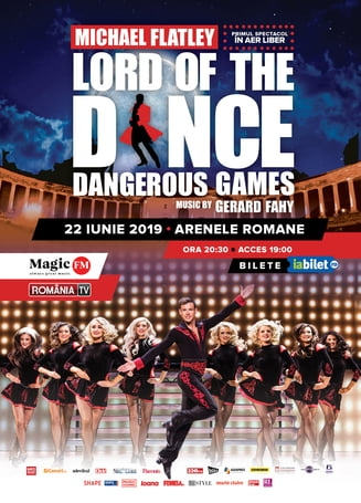 Lord of The Dance - Dangerous Games, show incendiar al dansatorilor irlandezi la Bucuresti