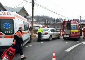 Accident mortal la Molid
