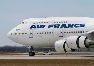 Air France reia zborurile pe ruta Bucuresti - Paris