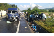 Imagini video care surprind accidentul mortal din  Vrancea